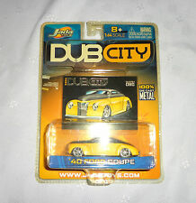 DubCity Diecast Jada Toys 1:64 '40 Ford Coupe Collectible Toy Car Trading Card 3