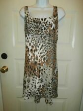 NEW NWT CACHE DRESS ANIMAL PRINT SZ 6 SMALL LINED