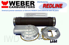 WEBER Carb Remote Air Cleaner Adapter Snorkel Kit 32/36 DGV DGEV DGAV 38/38 DGAS