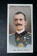 King Victor Emmanuel III  King of Italy  World War 1  1917 Card  VGC