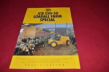 JCB 520-50 Loadall Farm Special Dealers Brochure LCOH