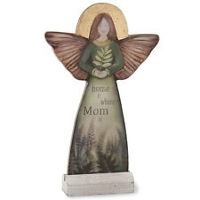 Home Is Where Mom Is Angel Figurine - Religious Christian Mother's Day Gift