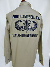 US Army 101st Airborne Division Ft. Campbell Screaming Eagle Tour Shirt WK2 -XXL