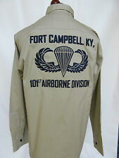 US Army 101st Airborne Division Ft. Campbell Criant Aigle Tour Chemise WK2 -XXL
