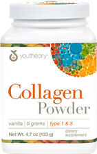 Collagen Powder, youtheory, 4.7 oz Vanilla
