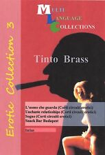 Erotic Collection 3.  Tinto Brass.  2 DVD set.   4 movies  No any Subtitles.