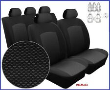 Tailored Fundas Set Completo Para Volkswagen Touran 5 plazas 2003 - 2010 (BL)