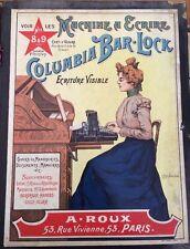 Sous-main Avec 2 Affichettes Publicitaires Vers 1900