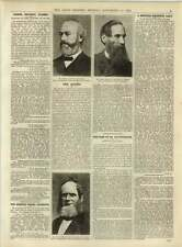 1891 New Mayors John Muir Joseph Gamble Francis Harris Benares Magnetic Lady