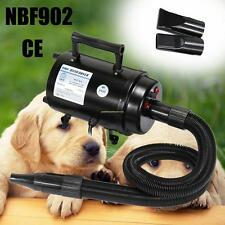 3 Nozzles Dog Dryer Grooming Heater Blaster Cat Pet Hair Dryer Blower UK Plug