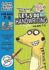 Brodie Andrew-Let`S Do Handwriting 7-8  BOOK NEW