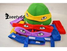 Four Color for Sale Teenage Mutant Ninja Turtles Cartoon Costume Mascot Adult Sz