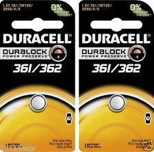 Duracell 362 361 SR721SW AG11 LR721 V362 V361 D362 D361 SP361 SP362 Battery x 2