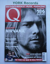 Q MAGAZINE - October 2002 - Nirvana / Doves / Nickelback / Avril Lavigne