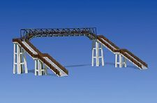 Faller 120179 - Railway Footbridge Plastic Kit  'H0' Gauge= 1/87 Scale T48 Post