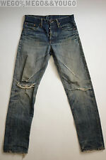 LVC Levi's Vintage Clothing 501 Big E Jeans SELVEDGE Redline USA 32 X 30