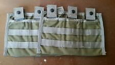 FSBE, Allied Industries 7P200, Carrier MOD 3MAG (M-4A1) Pouch lot of 2