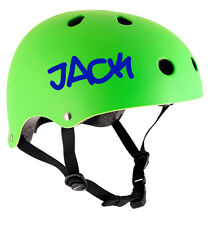 2 x PERSONALISED BIKE HELMET NAME STICKERS CYCLE DECALS CHILDRENS BMX SKATEBOARD