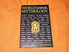 world mythology an anthology of the great myths and epycs ,d. rosenberg 1992