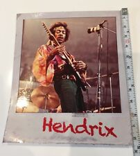 Jimmy Hendrix Sticker Decal Dancing Music Life Polaroid Jimi