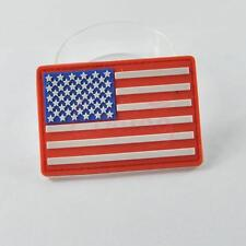 USA American Flag US 3D Tactical PVC Velcro Patch Rubber Military Morale Badge