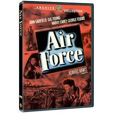 New Sealed AIR FORCE (Region 1 DVD 2013) John Garfield WARNER Archive Collection
