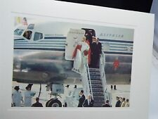 "VINTAGE  ""POPE PAUL VI  ARRIVING NEW YORK  USA""   PICTURE"