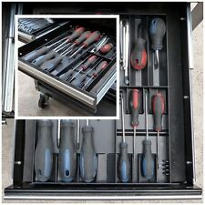 Tool Box Storage Organizer For Screwdriver Holds Tray Rack Drawers Shallow Case