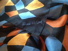 Vivienne Westwood vintage  oversized silk scarf shawl  new Italy
