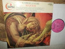 FAURE: Requiem   Chamonin Abdoun Concerts Colonne Martini/ EMI Trianon stereo