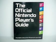 D0515011 NINTENDO PLAYER'S GUIDE 1987 NES COVER UNUSED STICKERS MINTY