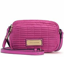 NWT AUTHENTIC Juicy Couture NOUVELLE POP Nylon Crossbody, Duchess Pink $108
