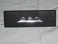 Radioschachtabdeckung Holz Radioblende Typenschild Mercedes 230 W114 W 114 /8