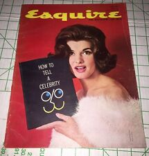 Esquire Magazine June 1961 Nancy Kovack, Pipe Smoking How To Tell A Celebrity
