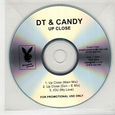 (GS402) DT & Candy, Up Close - DJ CD