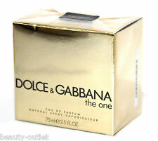 Dolce & Gabbana The One EDP 75ml Eau de Parfum NEUF BLISTER & Authentique Femme
