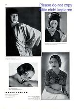 Beauty of races XL page photo image 1930 Takehayaschi Tsching Fuh Won Ell Dura +