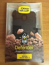 ORIGINALE OtterBox Samsung Galaxy Note 3 Defender antiurto Custodia Nero