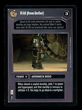 Star Wars Premiere Limited : R1-G4 (Arone-Geefour) DS CCG Card