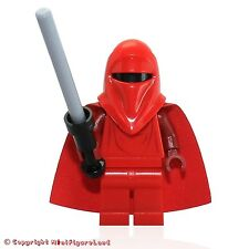 LEGO Star Wars MiniFigure - Royal Guard (Dark Red Arms & Hands)  Set 75034