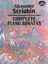 Alexander Scriabin Complete Piano Sonatas Learn to Play Classical Music Book