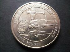Guernsey 1998 Royal Air Force UNCIRCULATED £ 5 moneta alloggiati in una capsula NUOVO.