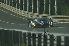 Tom Kristensen Hand Signed Bentley Speed 8 12x8 Photo Le Mans 3.