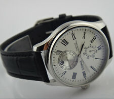Parnis 43mm Power Reserve Indicator automatic Men's watch