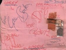 THE PARAMOUNTS (PROCUL HARUM) SIGNED AUTOGRAPHS