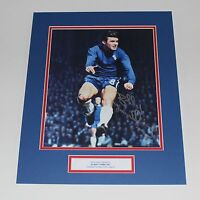 BOBBY TAMBLING Chelsea HAND SIGNED Autograph Photo Mount Display + COA Proof