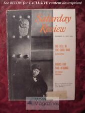 Saturday Review October 10 1959 CHINA COLD WAR DAVID FINN Carlos P. Romulo