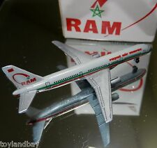 Schabak 1:600 Scale Diecast 908-118 RAM Royal Air Maroc Boeing 757 New in Box