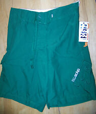 "Brand New Mens Billabong Green Board Shorts Size W 28"". RRP £35.00."