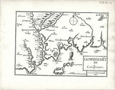Antique maps, gouvernement de Conquerneau